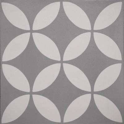Cementine Piper Gray 8 in. x 8 in. Ceramic Floor and Wall Tile (10.76 sq. ft. / case)