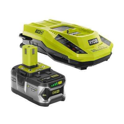 18-Volt ONE+ Lithium-Ion 4.0Ah Starter Kit with Battery and Charger