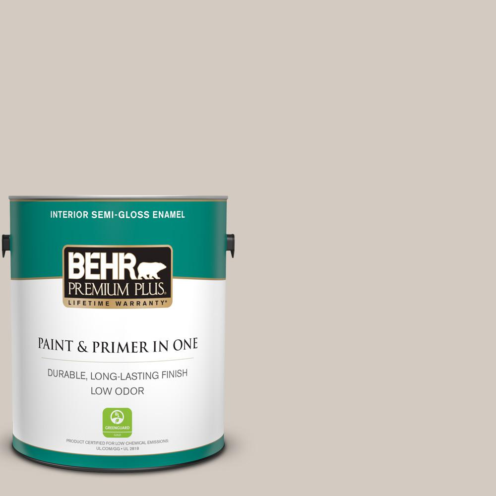 Behr Premium Plus 1 Gal N320 2 Toasty Gray Semi Gloss