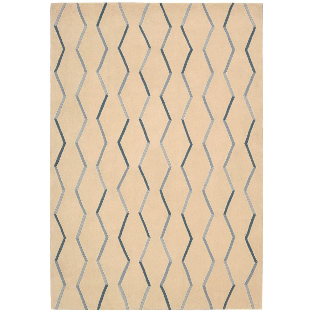 Nourison Contour Ivory 5 ft. x 7 ft. 6 in. Area Rug