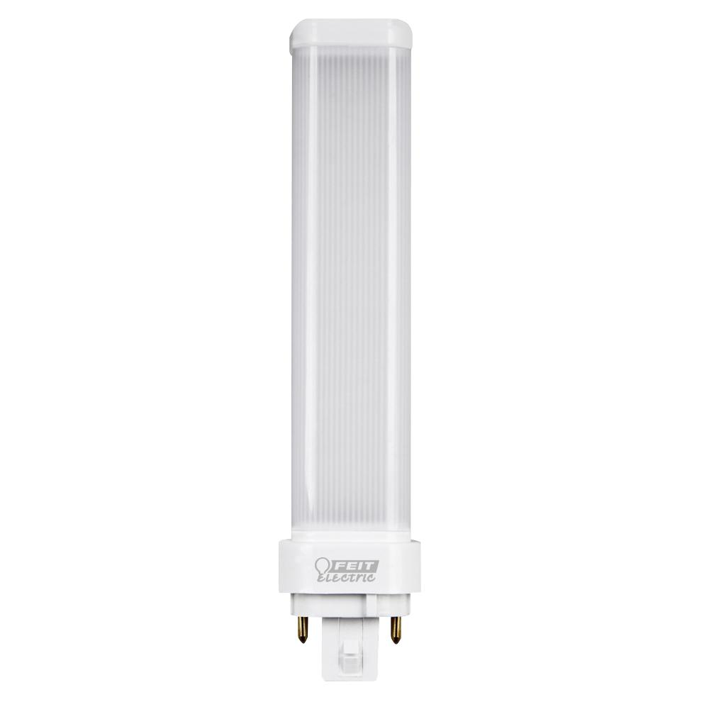 26W Equivalent Cool White (4100K) Horizontal 4-Pin PL LED GX24Q-3 Base
