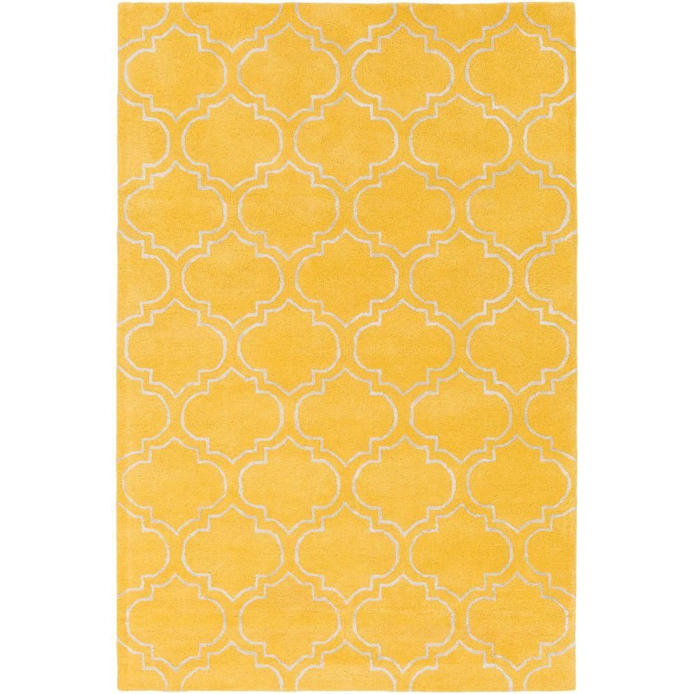 Signature Emily Yellow 8 ft. x 11 ft. Indoor Area Rug