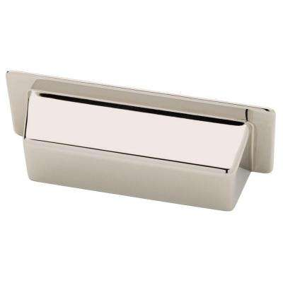 3 in. (76mm) Polished Nickel Alcove Bin Pull