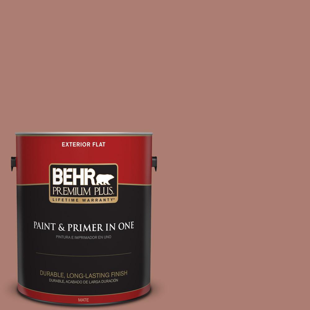 1 gal. #PPU2-11 Mars Red Flat Exterior Paint