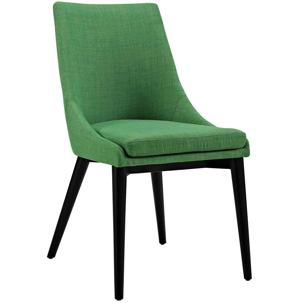 Modway Viscount Kelly Green Fabric Dining Chair