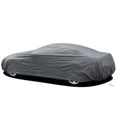 Economy Car Cover 206 in. L x 55.8 in. W x 53.16 in. H Ready-Fit/Semi Glove Fit