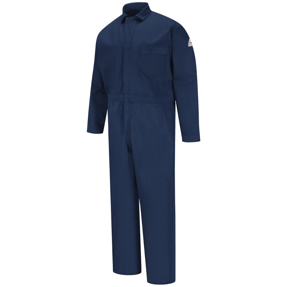 79b0dc60993 Bulwark EXCEL FR Men s 3X-Large Navy Classic Industrial Coverall ...
