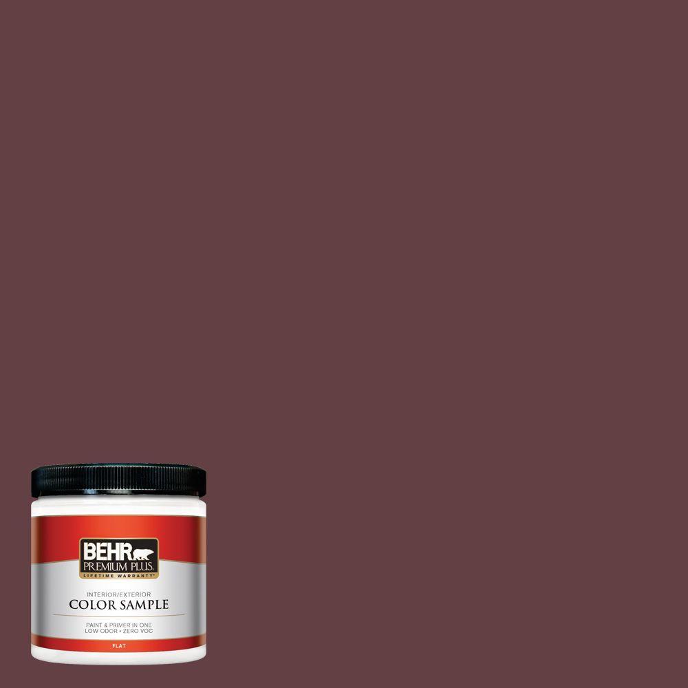 8 oz. #120F-7 Plum Raisin Interior/Exterior Paint Sample