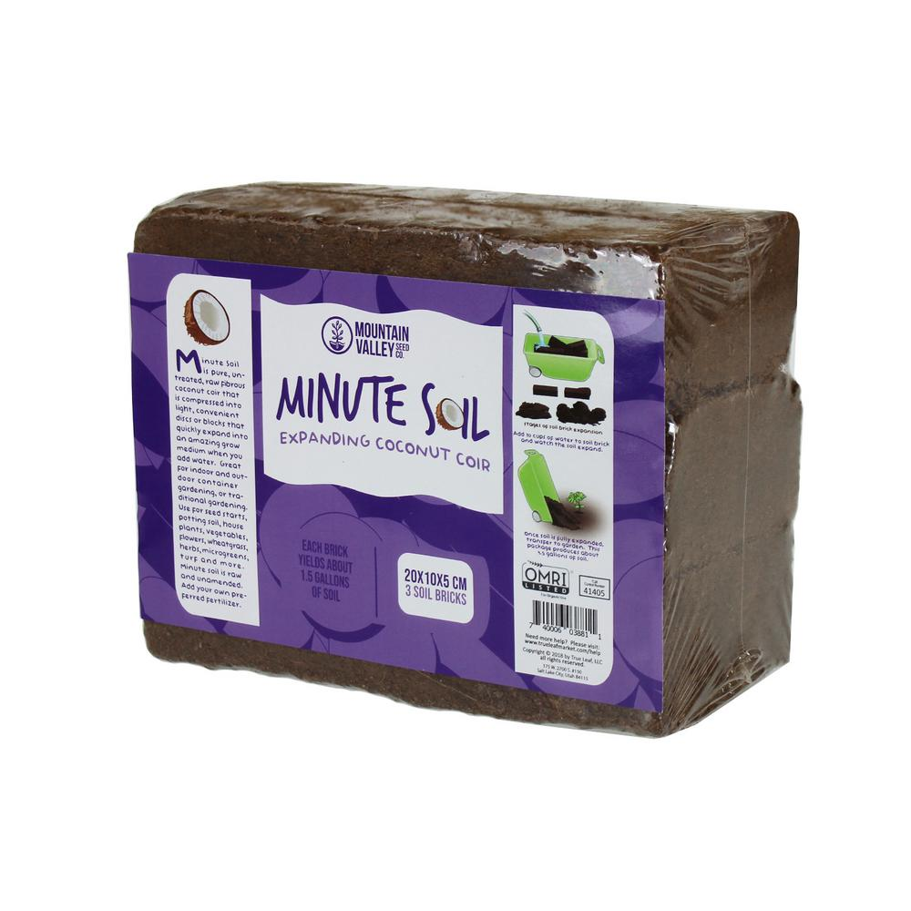 Mountain Valley Seed Company 4.5 Gal. Equal To 3 Bricks Of