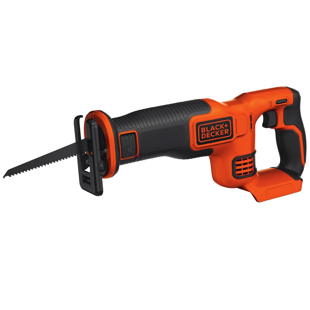 BLACK+DECKER 20-Volt MAX Lithium-Ion Cordless Reciprocating Saw (Tool-Only)