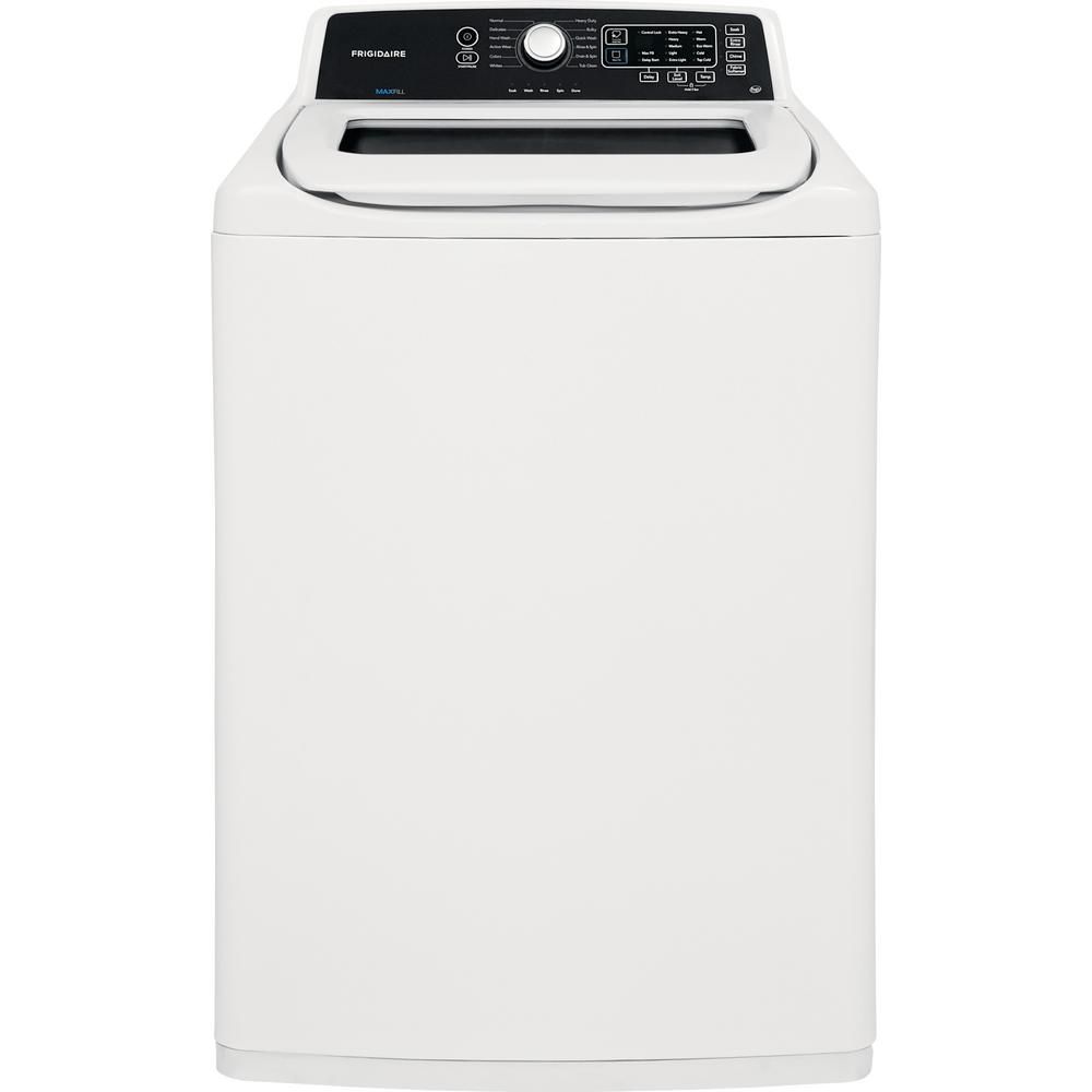 Frigidaire 4.1 cu. ft. White High Efficiency Top Load ...