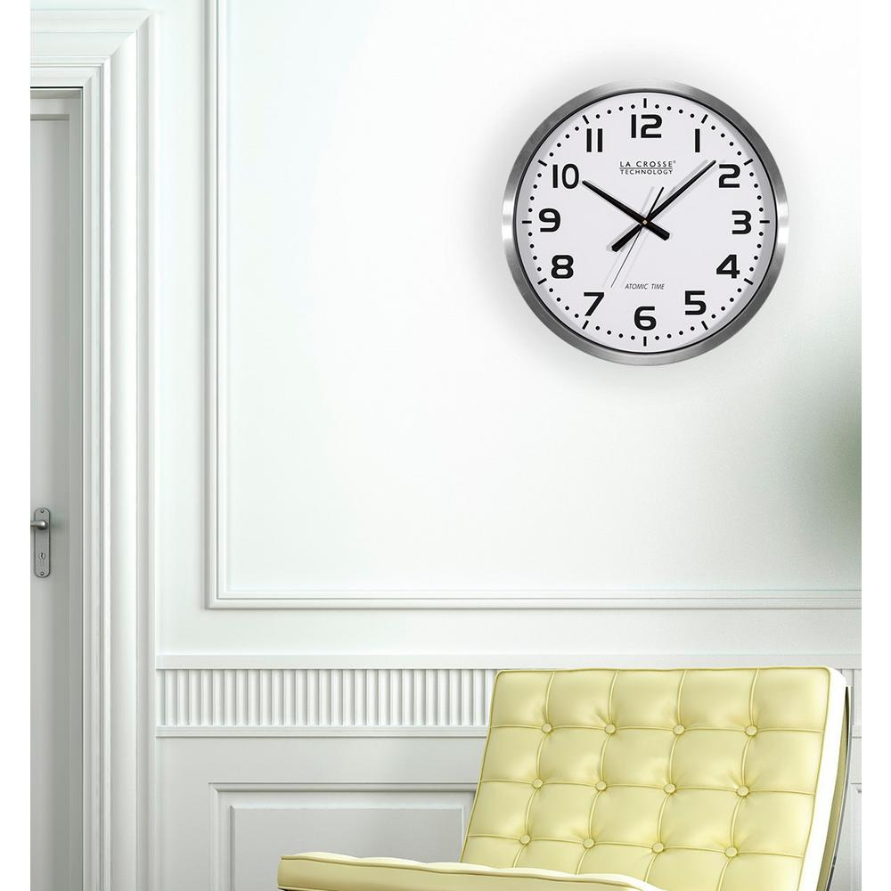 Outdoor clocks outdoor decor the home depot large analog wall clock amipublicfo Gallery