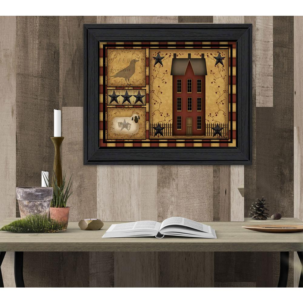 14 in. x 18 in. \'\'Primitive Shadowbox\