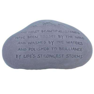 Storm Garden Decorative Stone Antique Gray