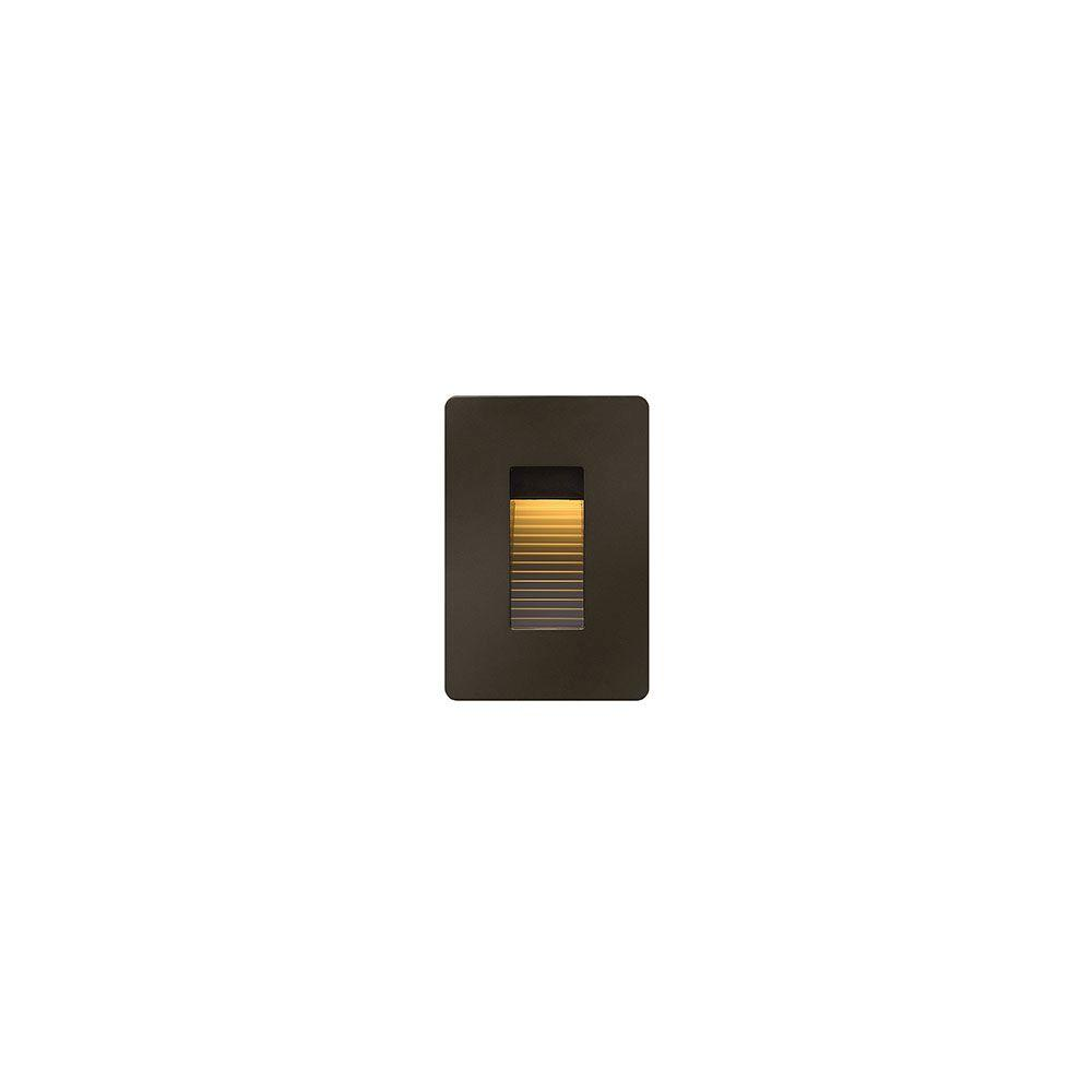 120-Volt 4-Watt Vertical Bronze LED Luna Step Light