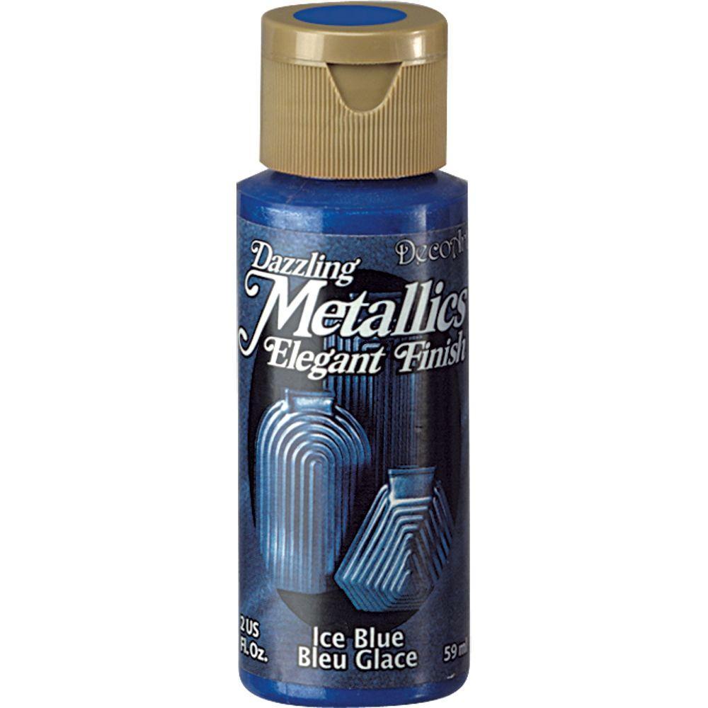Dazzling Metallics 2 oz. Ice Blue Acrylic Paint