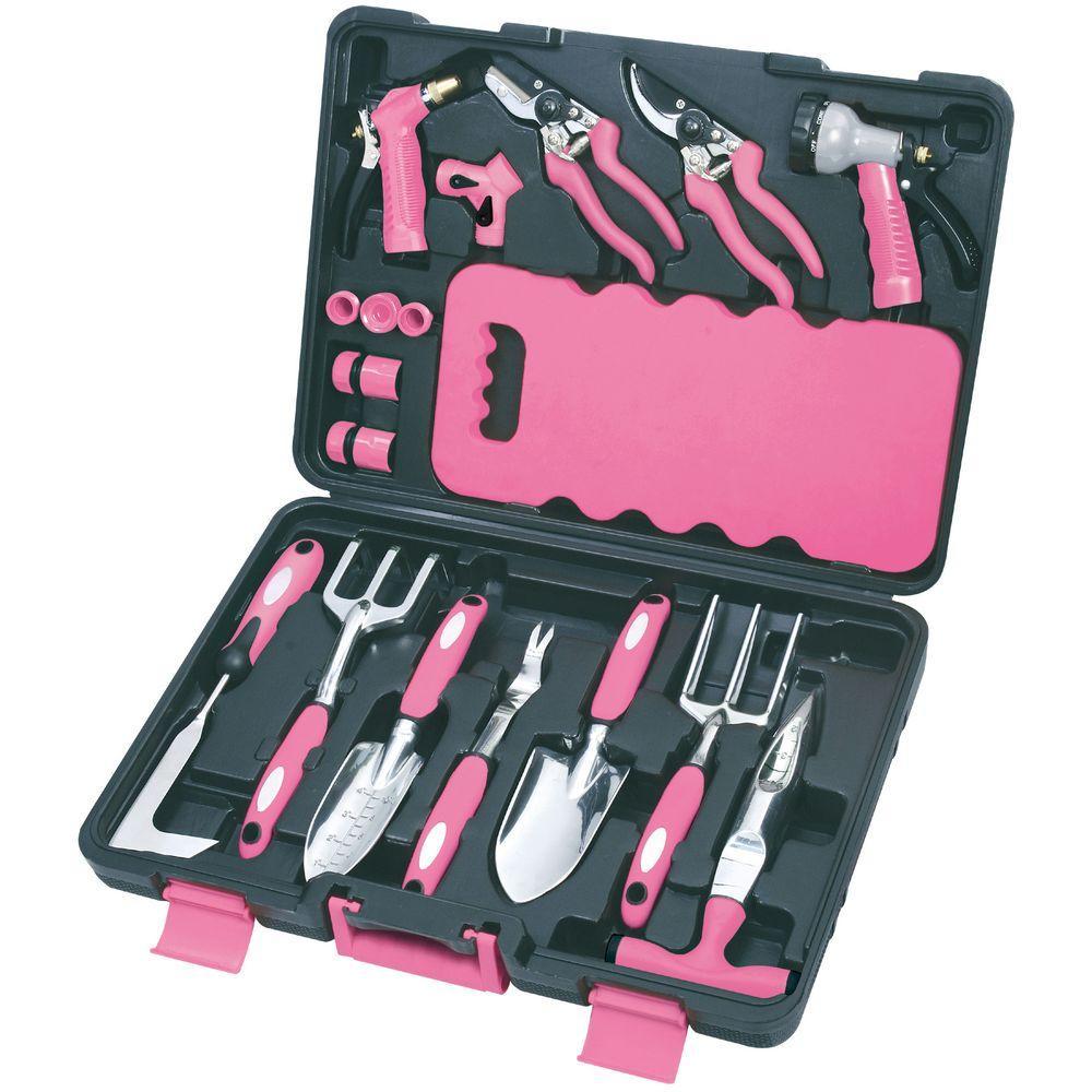 Apollo Garden Tool Set 18PieceDT3795P The Home Depot