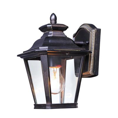 Knoxville 7 in. W 1-Light Bronze Outdoor Wall Lantern Sconce