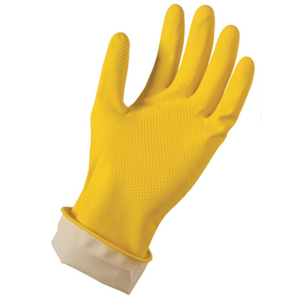 Grease Monkey Latex Reusable Gloves L/XL (2-Pack)