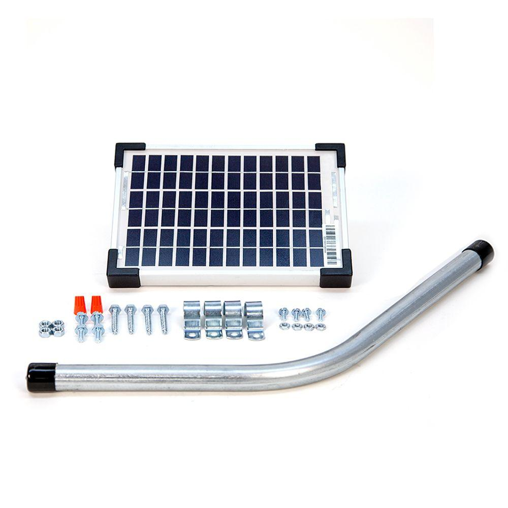 Mighty mule watt solar panel kit for electric gate