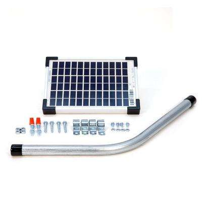 5-Watt Solar Panel Kit for Electric Gate Opener