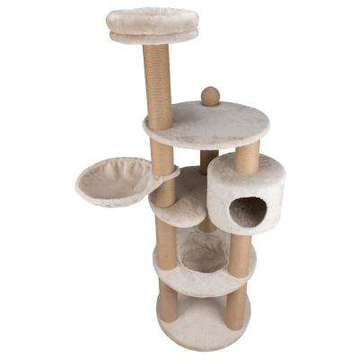 Light Gray Nigella Scratching Post