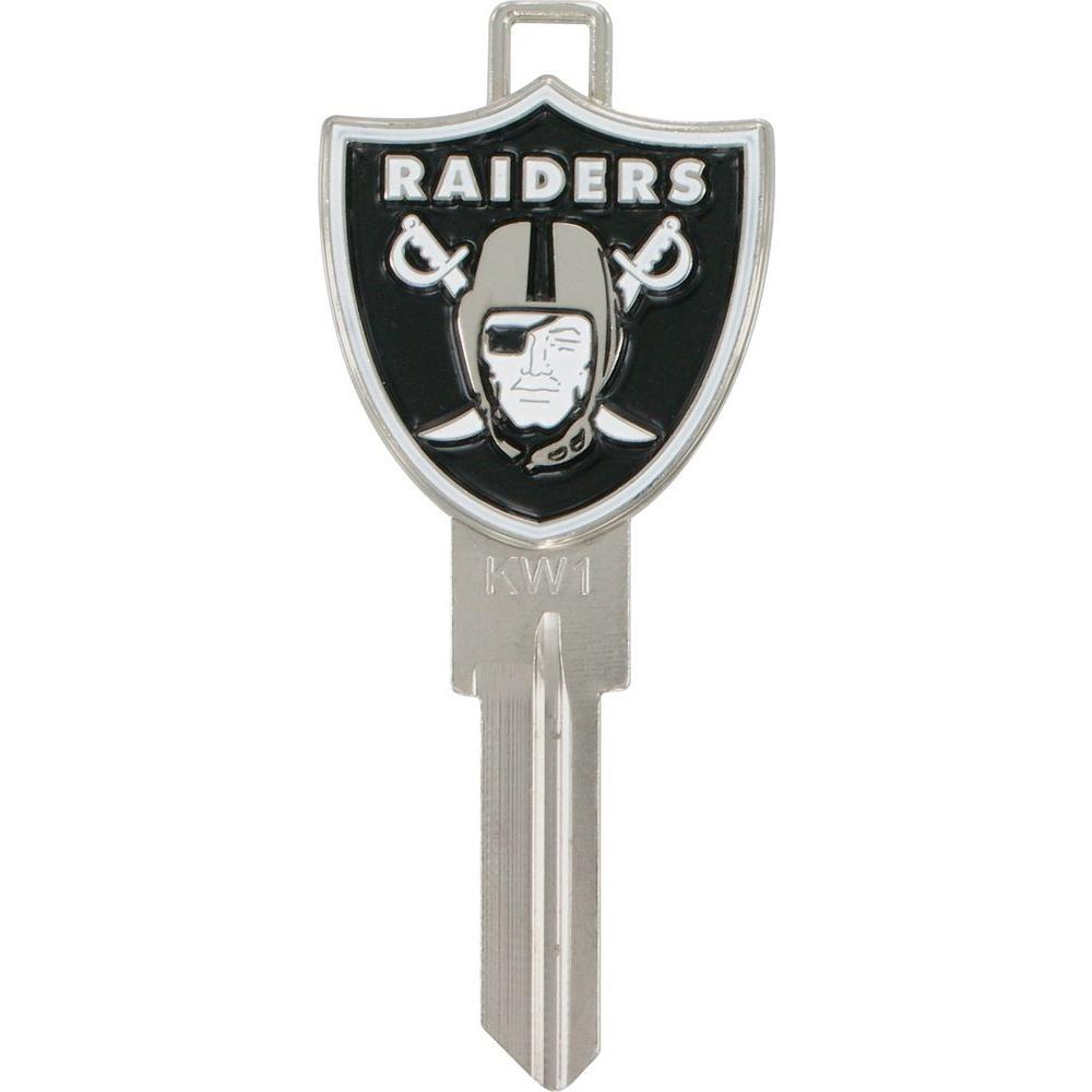 #66 Blank KW1-3D-NFL Oakland Raiders Key