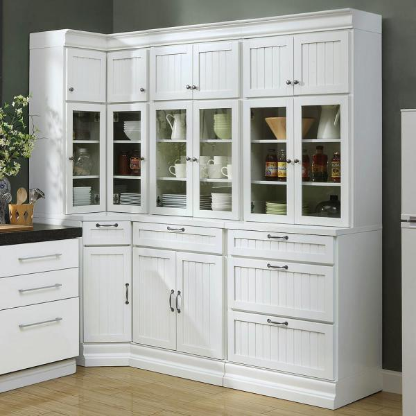 Home Decorators Collection Martingale True White Beadboard 3 Drawer Modular Storage Cabinet Sk19194b Tw The Home Depot