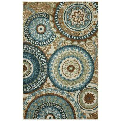 Forest Suzani Multi 6 ft. x 9 ft. Area Rug