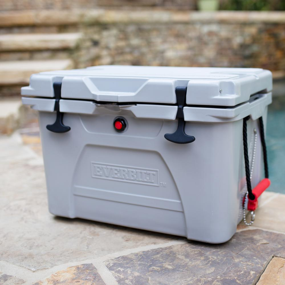 Everbilt 36 Qt. High-Performance Cooler with Lockable Lid - Holds 40 lbs. of Ice