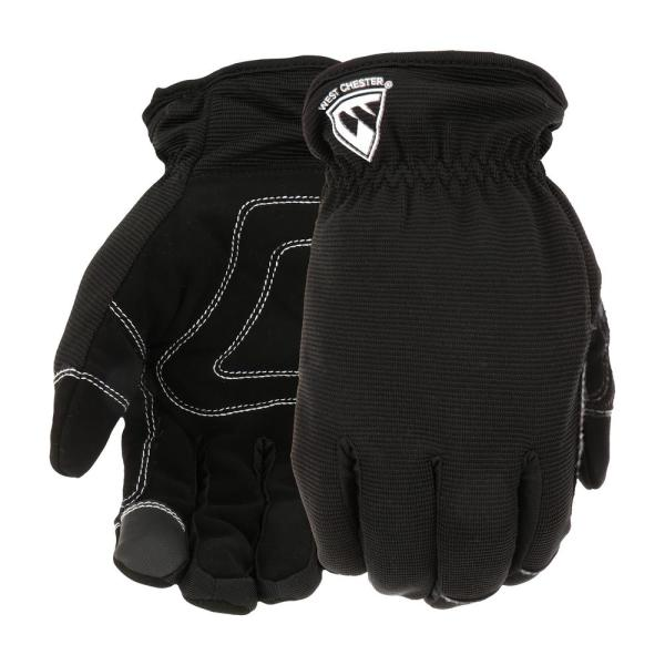 Men/'s Work Gloves 3 Pack LARGE All Purpose Medium Duty West Chester NEW FA