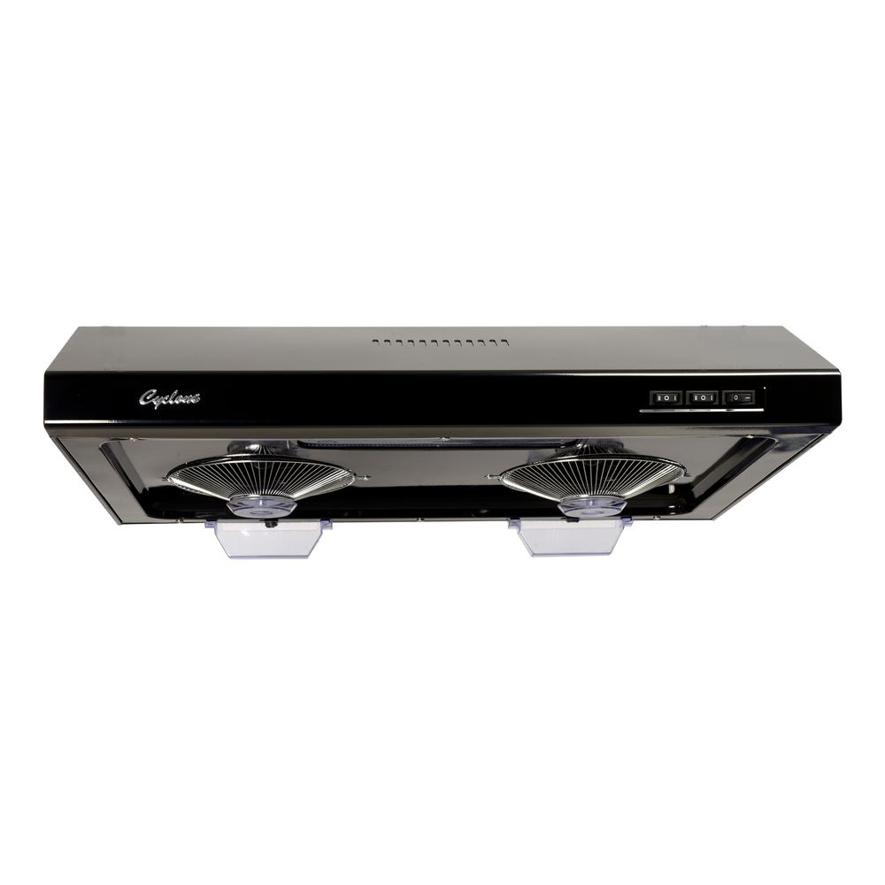 Under Counter Microwave For Easier Works: Cyclone 680 CFM Round/Rectangular Duct Opening, 30 In