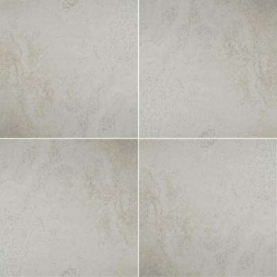 Antico Ivory 36 in. x 36 in. Polished Porcelain Floor and Wall Tile (6 cases / 108 sq. ft. / pallet)