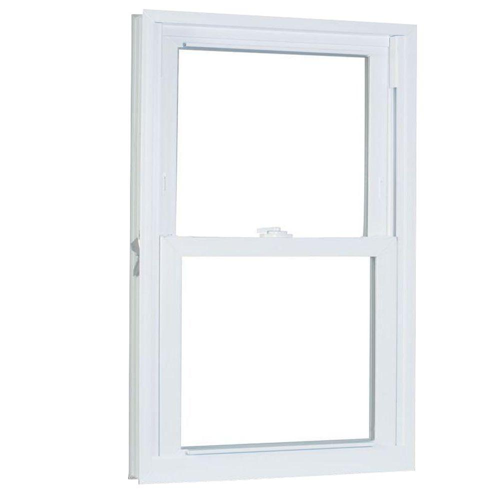 American Craftsman 31.75 in. x 73.25 in. 70 Series Double Hung Buck PRO Vinyl Window - White
