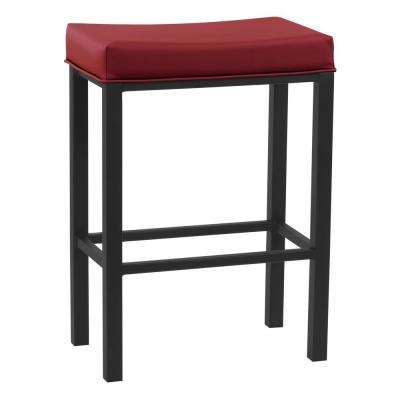 Lucy 26 in. Dillon Lipstick Barstool