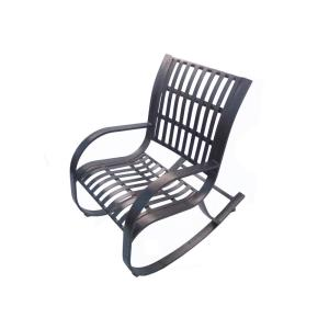 Noble Metal Outdoor Rocking Chair by