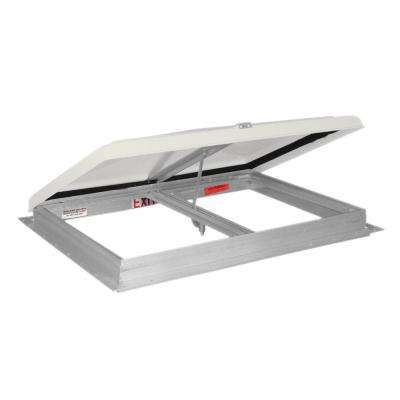 26 in. x 26 in. Escape Hatch/Exit Vent with Aluminum Frame