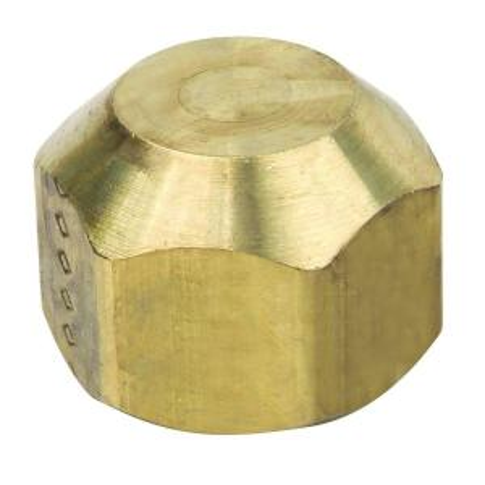 Brasscraft 5/8 inch O.D. (15/16-16 Thread) Flare Cap by BrassCraft