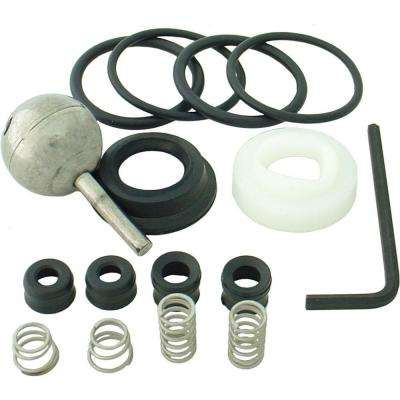 Repair Kit with 70-Style Ball for Delta Single-Handle Lavatory, Kitchen, Tub and Shower Faucets