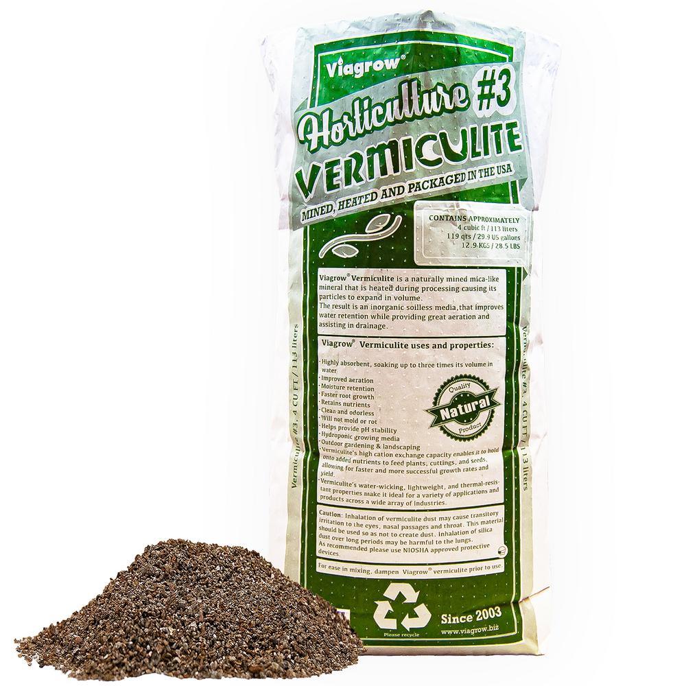4 cu. ft./29.9 Gal./113 l Horticultural Vermiculite