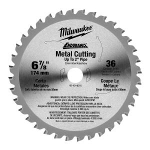Milwaukee 6-7/8 inch x 36 Tooth Ferrous Metal Circular Saw Blade by Milwaukee