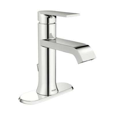 Genta Single Hole Single-Handle Bathroom Faucet in Chrome