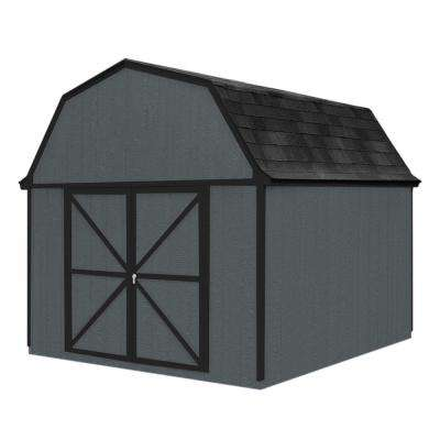 Berkley 10 ft. x 10 ft. Wood Storage Building Kit with Floor