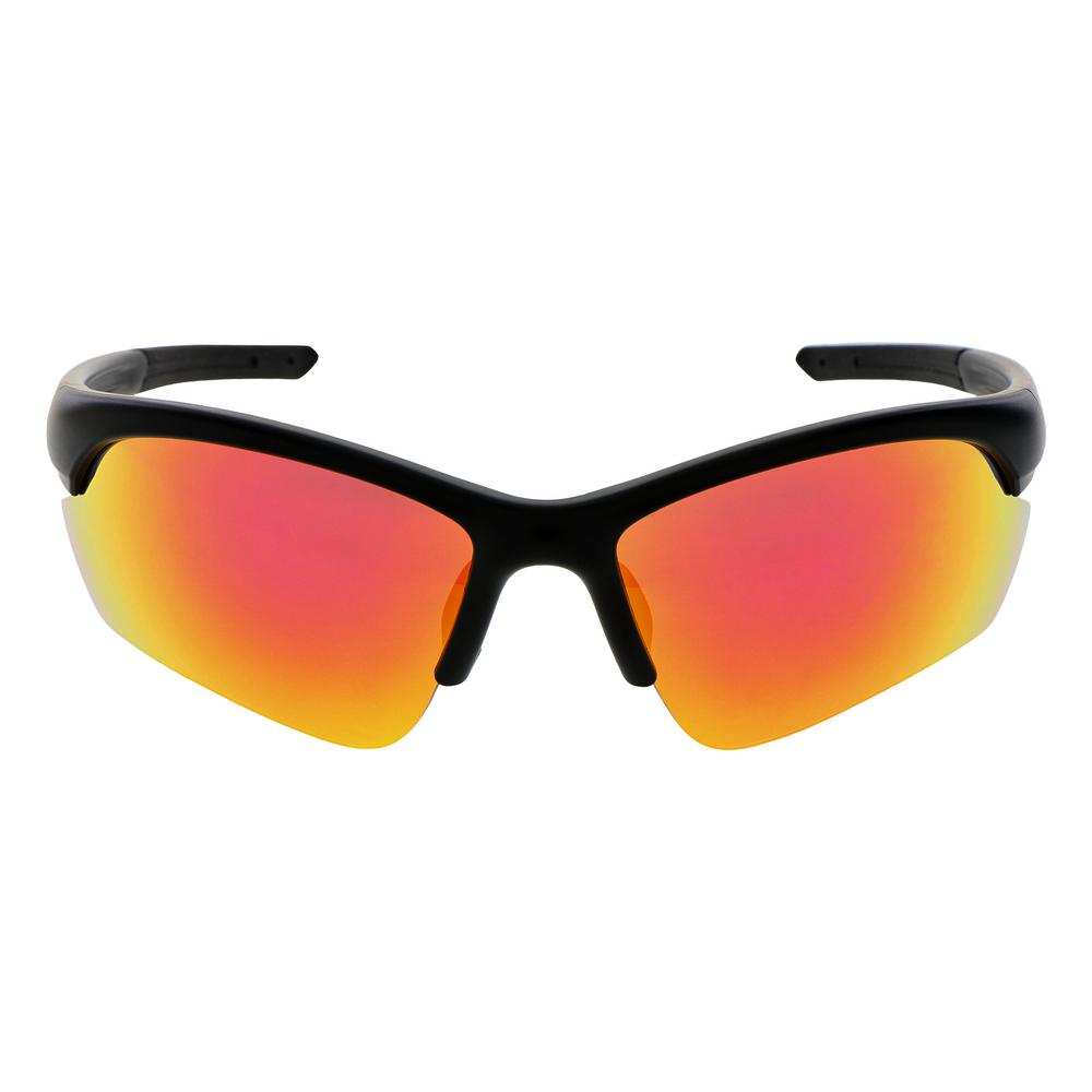 Unbranded Performance Red Safety Mirrored Eye Wear