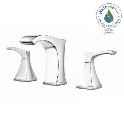 Venturi 8 in. Widespread 2-Handle Bathroom Faucet in Polished Chrome