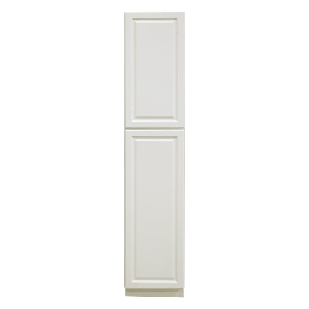 La. Newport Assembled 18x90x24 in. 2-Door Wall Pantry with Shelves in