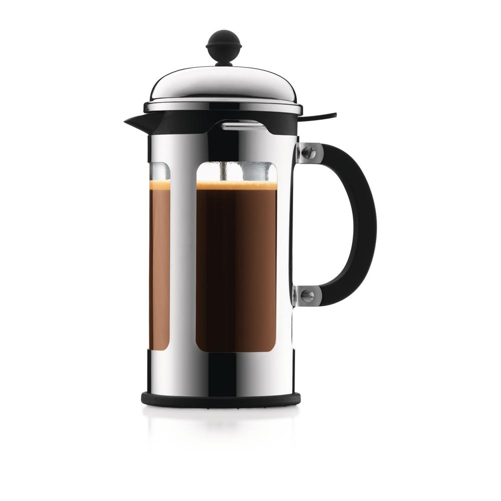 Bodum Chambord 8 Cup Stainless Steel French Press Coffee Maker