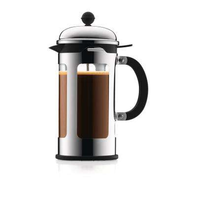 Chambord 8-Cup Stainless Steel French Press Coffee Maker