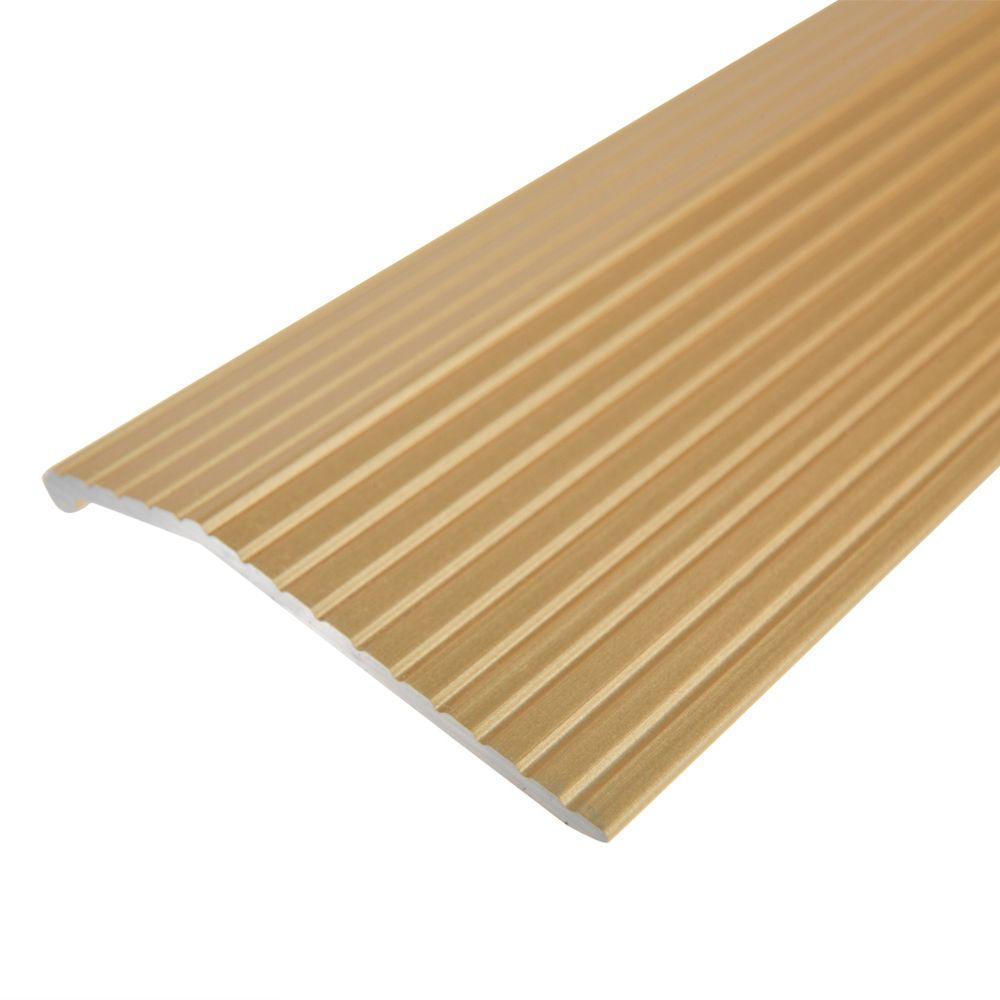 Gold 1-3/8 in. x 144 in. Carpet Trim