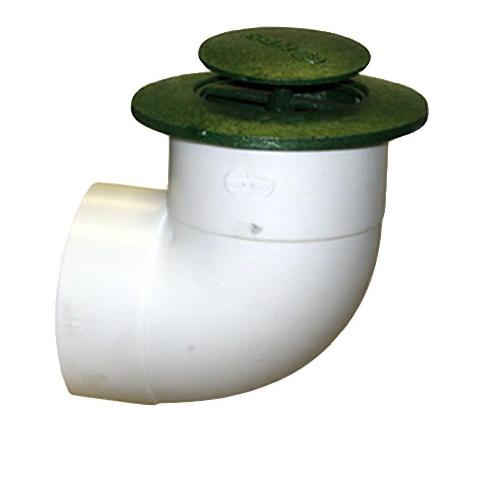 Nds 4 In Polyethylene Pop Up Drainage Emitters With Elbow